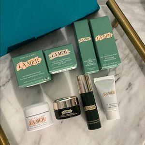 La Mer Crème de la Mer Set with Cosmetics Bag